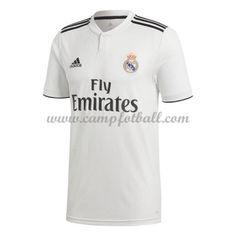 Real Madrid Fotballdrakter 2018-19 Hjemmedrakt Real Madrid, Polo Shirt, Mens Tops, Shirts, Polos, Polo Shirts, Polo, Dress Shirts, Shirt