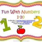 """This is a little freebie that I created to go along with the book """"Chicka Chicka 123"""". It's good practice with counting and ten frames. I plan to use it as a pocket chart activity. I hope you enjoy it!"""