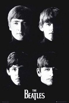 "Beatles poster featuring a slight reworking of the cover artwork for ""with The Beatles"". With The Beatles was the band's second studio album and was released in November This Beatles poster features John Lennon, Paul McCartney, George Harrison and R Poster Dos Beatles, The Beatles 1, Beatles Art, Beatles Photos, Beatles Guitar, Poster Poster, Print Poster, Paul Mccartney, Beatles Album Covers"
