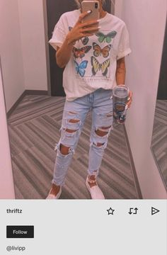 clothes for Cute Teen Outfits, Cute Comfy Outfits, Cute Outfits For School, Teen Fashion Outfits, Teenager Outfits, Swag Outfits, Retro Outfits, New Outfits, Stylish Outfits