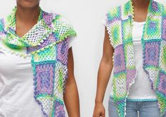 Jaipur zomersjaal, free pattern in Dutch with charts by Wolplein.