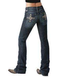 Cruel Girl® Ladies Danika Jeans - Slim Fit::Low Rise::Jeans::Ladies::Apparel::Fort Western Online