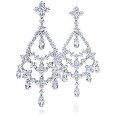 Harry Winston | Products | Jewels | Earrings | Chandelier Earrings ❤ liked on Polyvore featuring jewelry, earrings, harry winston, jewels jewelry, chandelier jewelry, harry winston jewelry and jeweled earrings
