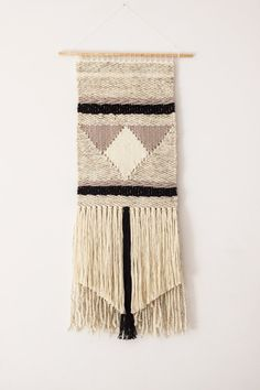 Woven wall hanging | Woven wall art | Wall tapestry weaving | Boho style…
