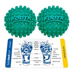 Soothe the muscle pains on your feet and hands with the Body Back Co. Footstar - Pain and Spasm Reliever. This chic massager may be small to the eye but it provides big relief to your hands, feet and