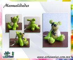 Artesanies Consulta catálogo en facebook.com/ARTESANIESmx #manualidades #fimo #bear #accesorios