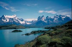 The Cuernos del Paine from Lago Nordenskjold, Patagonia region, Chile. Must get there and soon!