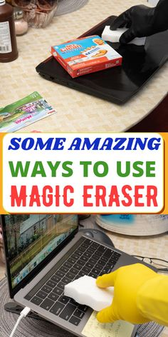 Household hacks using Magic Erasers all around the house. They are a million ways out there to use Mr Clean Magic Eraser But I will show you the most effective methods on how to use it around the house. #springcleaninghacks #cleaninghacks #sponges #housecleaningtips #deepcleaninghacks