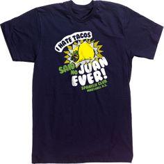 Spanish Club T-shirt Tee design I Hate Tacos I love Tacos