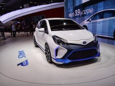 Ever wonder what a 414-horsepower Toyota Yaris Hybrid would look like? Wonder no more!