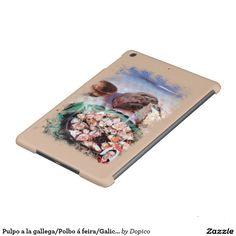 Pulpo a la gallega/Polbo á feira/Galician octopus Funda Para iPad Air