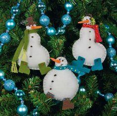 Christmas homemade snowman photos.