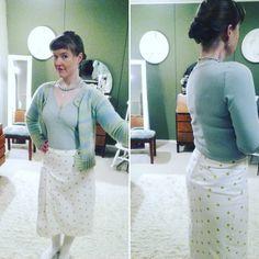 Prickig kjol Storlek: 38 Mönster: burdastyle 2018 Tyg: Eurokangas