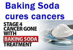 Baking Soda Treatment for Cancer: Should also consult with physician before undertaking to adjust for pre-existing conditions.