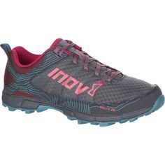 3662e26380dcd Inov 8 - Roclite 295 Standard Fit Trail Running Shoe - Women's - Grey/Berry