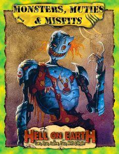 DadoDemente: Deadlands Hell on Earth: Monsters Muties 'n Misfit...