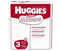 Huggies Little Movers Diapers, Size 3, 222-Count - http://www.intomars.com/huggies-little-movers-diapers-size-3.html