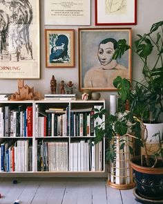 - Best ideas for decoration and makeup - Interior Simple, Interior And Exterior, Design Interior, Interior Modern, Wall Bookshelves, Bookcases, Home And Deco, Home Living Room, Indie Living Room