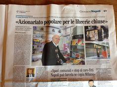 Su Il Mattino.  Venite a trovarci! #iocistolibreria #lalibreriaditutti #ilmattino #napoli #books #libri #italy   http://www.iocistolibreria.it