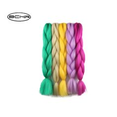 BCHR Jumbo Braids 24'' 100g/Hair For Russian Women 25 Colors Synthetic Braiding Hair. Yesterday's price: US $3.00 (2.45 EUR). Today's price: US $1.11 (0.91 EUR). Discount: 63%.