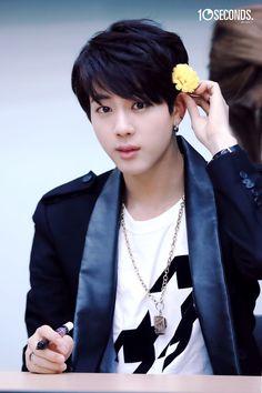 FY! KIM SEOKJIN #BTS #Jin #lovely: