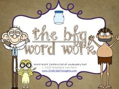 This unit includes over five center activities to help teach important vocabulary from the timeless chapter book, The BFG. Included are:- Making Words (2-9+ letter words)- Word Search (uses most of the vocabulary words)- Parts of Speech Sort (sorting 36 vocabulary words into nouns, verbs, or adjectives)- ABC Order (organizing 36 vocabulary words into alphabetical order)- Syllable Sort (sorting 36 vocabulary words into 1-3 syllables)- Publishing Paper (for centers who finish early, included…