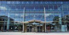 La Rochelle: Médiathèque d'agglomération Michel-Crépeau