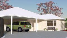 Gosnells - 2873 - unit development - Elevation sketch up for a custom designed home on a narrow block