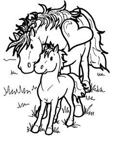 Djur Målarbilder för barn. Teckningar online till skriv ut. Nº 87