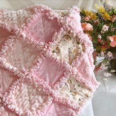 How to rag quilt. Need this for the other blanket.