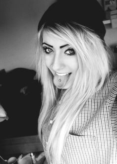 tongue and nose piercing ~ Yes Please!