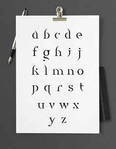 Adrien Bourmault - Designer Graphique Frome Garamond to a new type.
