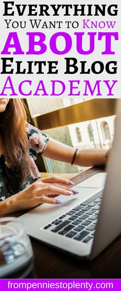 Do you want to start a money-making blog? Most people fail without the determination and the right guidance. Read this complete review to learn how Elite Blog Academy can help you reach your blogging goals. #blogginggoals #bloggingadvice #beginningblogger #bloggingtips #blogforprofit #makemoneyblogging #makemoneyfromhome #eliteblogacademy #frompenniestoplenty