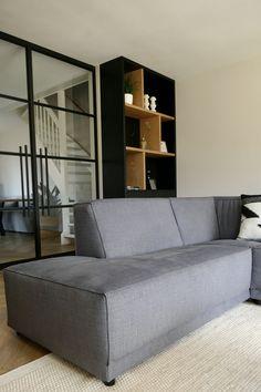 www.lifs.nl #lifs #interior #interiordesign #interieuradvies #ontwerp #3D #ensuite #maatwerk #staal Decor, Ensuite, Tiny House, Sofa, Furniture, House, Interior Design, Home Decor