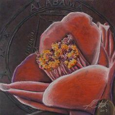 Pastel on Board. Camellia, Art Gallery, Pastel, Board, Artwork, Painting, Art Museum, Cake, Work Of Art