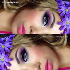 glambymeli  using @bhcosmetics smokey eye palette ~ #nyc liquid liner ~ @anastasiabeverlyhills dip brow (blonde) ~ @ardell_lashes flare lashes 119~ @motivescosmetics foundation (tender beige&almond) ~ @motivescosmetics blush (pretty in pink) ~ @whiteninglightning rose hill gloss ~ @skyycollection halo~ @eyecandyscom (neo lucky clover) circle contacts~ finally used my @sigmabeauty basics eyes kit :) #glambymeli Have a great night loves