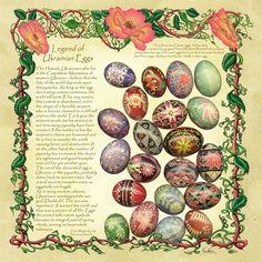 Image detail for -Ukrainian Easter eggs- link  interesting  legend of ukranian easter eggs