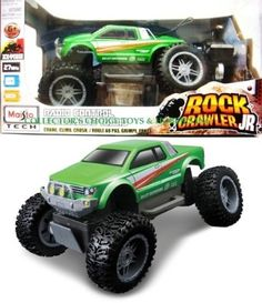 Amazon.com: Maisto R/C Rock Crawler (Colors May Vary): Toys & Games $39.99