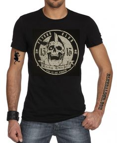4fafea73 LUCKY 13 Psycho Club T-shirt• 100% premium quality cotton• Printed neck