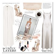 """""""Winter Layers: Slip Dress"""" by stranjakivana ❤ liked on Polyvore featuring Whiteley, The Row, Anne Wiggins London, Dsquared2, Judith Leiber, Marchesa, Jennifer Behr, Valentino, women's clothing and women's fashion"""