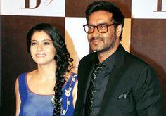 Cute Couple! Kajol Devgan & Ajay Devgan