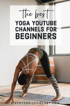 A quick look at the best channels for yoga on YouTube for beginners — after having done a whole bunch of videos. | best yoga youtube channels | yoga beginners learning | yoga beginners video | workouts at home | at home yoga workout | yoga workouts | how to start yoga | at home yoga for beginners | learn yoga at home #yoga #discoverdiscomfort Yoga Workouts, At Home Workouts, Exercises, 10 Minute Morning Yoga, Yoga Videos For Beginners, Yoga Youtube, Yoga For Stress Relief, Yoga At Home, How To Start Yoga