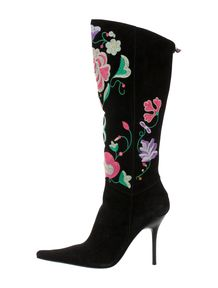 Casadei Suede Boots - The Real Real