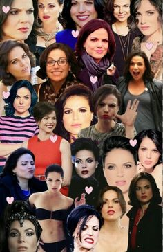 Awesome collage of awesome pics of Lana made by my awesome Once friend Whitney
