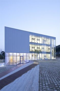 White Block Gallery, Heyri Art Valley, Korea by SsD Architecture