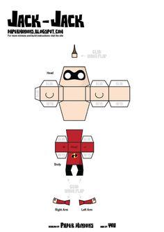 C'est Paper Minions qui signe cette nouvelle création inspirée de l'univers Pixar. Cette fois, il s'agit de la famille des Indestructibles, d'après le dessin animé sorti en 2004 sur les écrans. On y retrouve M. Indestructible (le papa), Elastigirl (la…