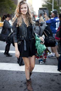 Lindsey Wixson #streetstyle #fashion #modeloffduty
