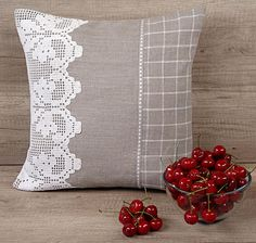 Check out this item in my Etsy shop https://www.etsy.com/listing/386968802/gray-white-filet-crochet-throw-pillow