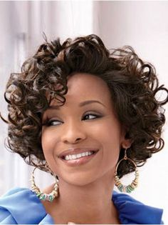 Wigsis provides variety of Lace Front Easy Classic Curly Short Wigs with good customer service and fast shipment, including short curly wigs,short Lace Front wig for customer. Short Lace Front Wigs, Short Curly Wigs, Short Curly Haircuts, Curly Hair Cuts, Curly Hair Styles, Short Pixie, Pixie Haircuts, Pixie Cuts, Shaggy Pixie