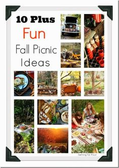 10 Plus Fun Fall Picnic Ideas from Setting for Four